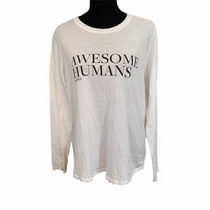 Figs Scrubs Awesome Humans Tee Size XL